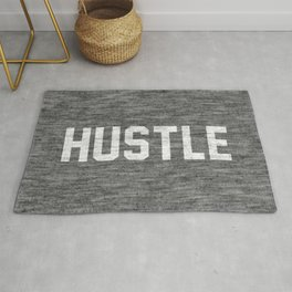 Hustle - dark version Rug