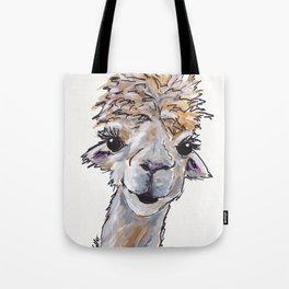 Alpaca Art, Angel the Alpa Tote Bag