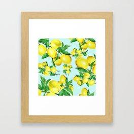 lemon 2 Framed Art Print