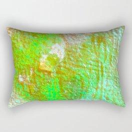 Lime Blue Vandal Rectangular Pillow