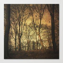 Vintage Forest Canvas Print