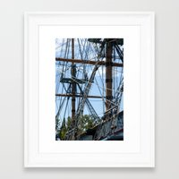 pirates Framed Art Prints featuring Pirates! by NL Designs