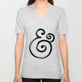 InclusiveKind Ampersand Unisex V-Neck