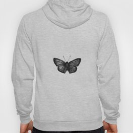 Minimalista borboleta 1 Hoody