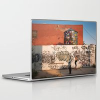 brooklyn Laptop & iPad Skins featuring Brooklyn by Phil Provencio