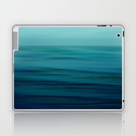 Greenish Blues Laptop & iPad Skin