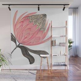Protea Stripes Wall Mural