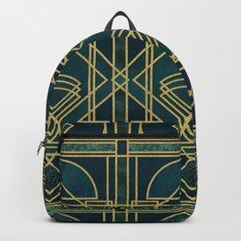 Art Deco Elegant Gatsby Style Backpack