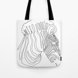 2016 Zebra Artwork Tote Bag