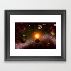 KANDY-VERSE - 106 Framed Art Print