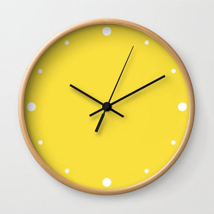 Daffodil (Yellow) Color Wall Clock