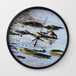 Trash Bird, #6 Wall Clock