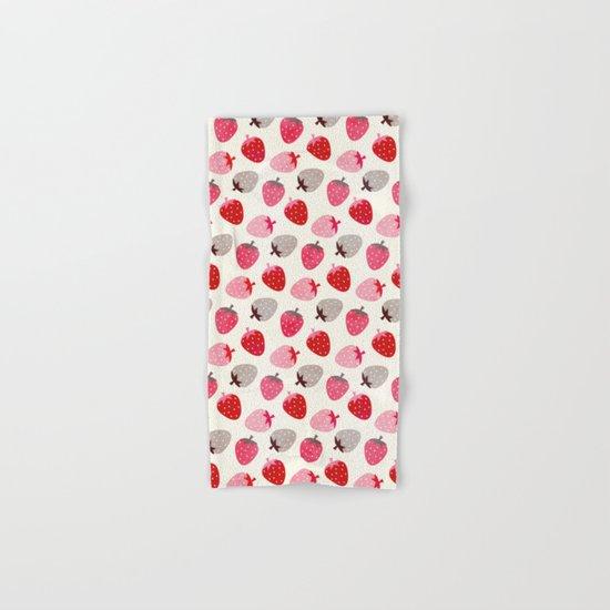 STRAWBERRY FIELDS Hand & Bath Towel