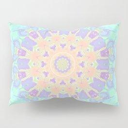 Rainbow Kaleidoscope Pillow Sham