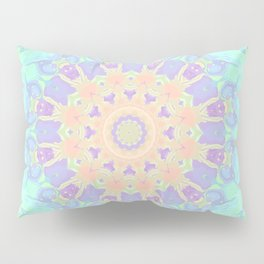 Rainbow  Kaleidoscope Pillow Sham