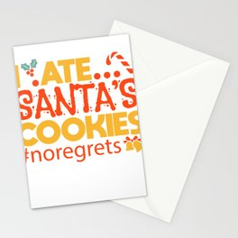 Christmas List Cheeky Kids Biscuits Gift Stationery Cards