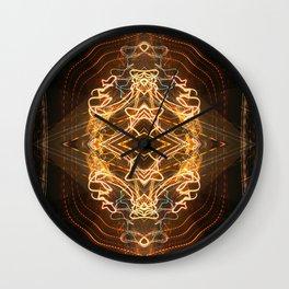 Celestial Shrine Wall Clock
