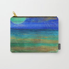 Turquoise Moon Night Carry-All Pouch