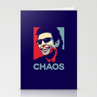 jurassic park Stationery Cards featuring 'Chaos' Ian Malcolm (Jurassic Park) by Tabner's