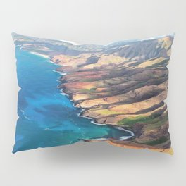 North Na Pali Coast Pillow Sham