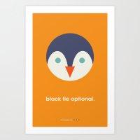World Penguin Day Poster Art Print