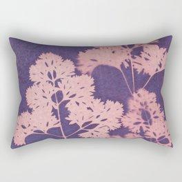 Cyanotype No. 10 Rectangular Pillow