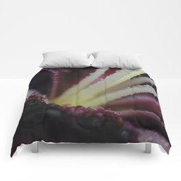 wet Tiny Poem Lily 001 Comforters