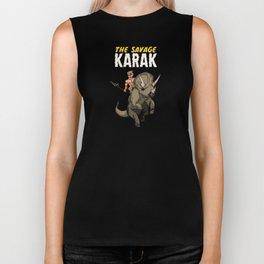 The Savage KARAK, King of Devil Jungle Island Biker Tank