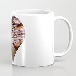 Heart Shape Stone Art Coffee Mug