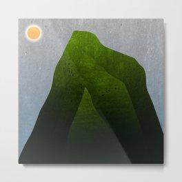 The green mountains Metal Print