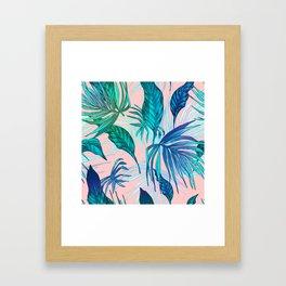 Pink in Paradise Framed Art Print
