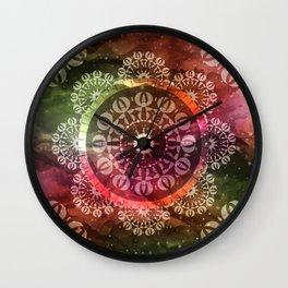 Mandala Geometric Spirit Wall Clock