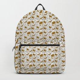 Bearded Dragon pattern Backpack