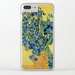 Vincent Van Gogh - Irises Clear iPhone Case