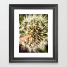 Dandelion Bliss Framed Art Print