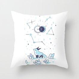 Arctic Nights Throw Pillow
