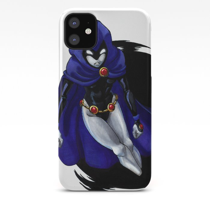 Teen Titans Serious Raven iphone case