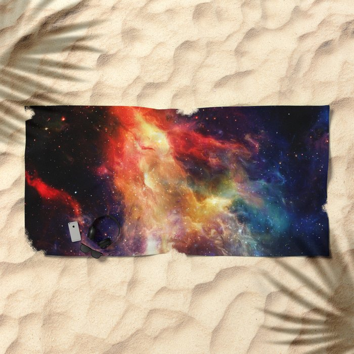 Everything is nothing 24 (therefore it was beautiful) Beach Towel