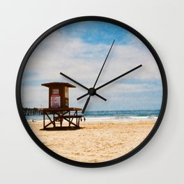 Life Guard Off Duty Wall Clock