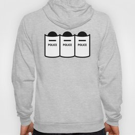 Police Squad Stickfigures Clipart Hoody