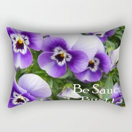 Be saucy, bitch! Rectangular Pillow