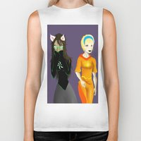 homestuck Biker Tanks featuring Beta Babes by Paula Urruti