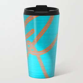 Metallic K Travel Mug
