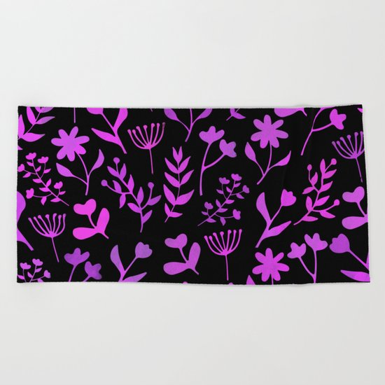 Lovely Pattern XII Beach Towel