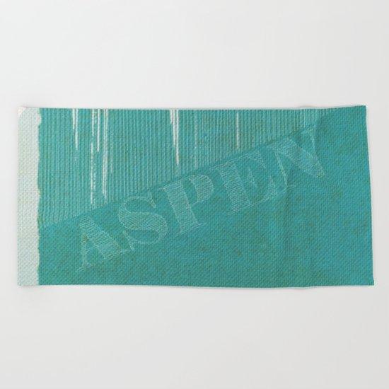 Aspen Beach Towel