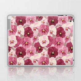 Field of pansies Laptop & iPad Skin