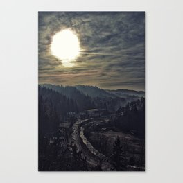 From Dracula's Castle Canvas Print