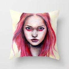 Pink Gemma-2012   Throw Pillow