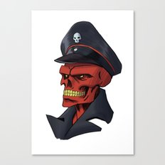 Red or Dead Canvas Print