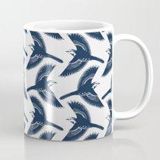 White Wagtails Pattern Mug